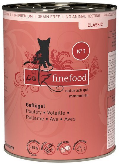Catz Finefood N.03 Drób puszka 400g