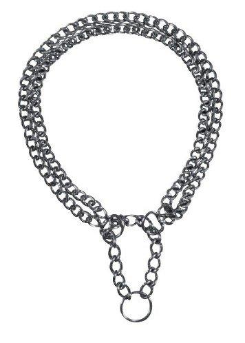 Trixie Kolia metalowa dwurzędowa 65cm [2247]