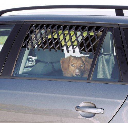 Trixie Kratka wentylacyjna do samochodu duża czarna