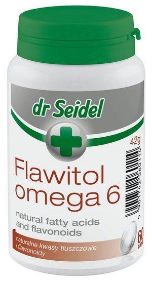 Dr Seidel Flawitol Omega 6 skóra i sierść - 60 kapsułek