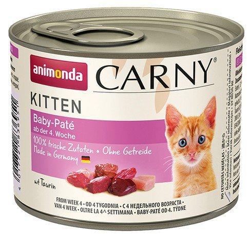 Animonda Carny Baby Pate puszka dla kociąt 200g