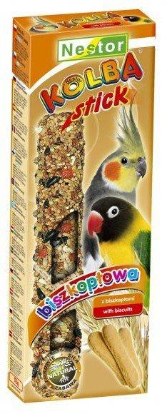 Nestor Kolba Papuga średnia biszkoptowa 2szt