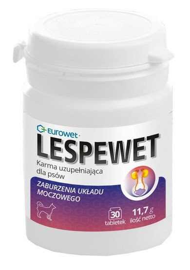 Eurowet Lespewet dla psa 30 tabletek