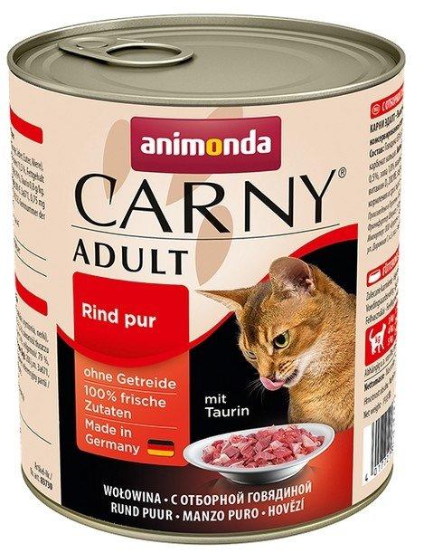 Animonda Carny Adult Wołowina puszka 800g
