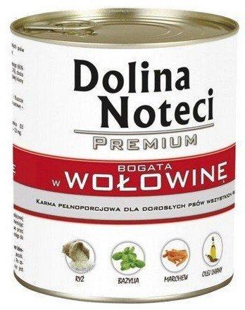 Dolina Noteci Premium Pies Wołowina puszka 400g