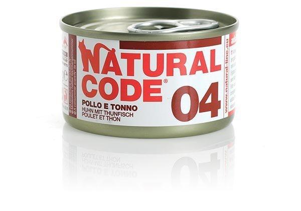 Natural Code Cat 04 Kurczak i tuńczyk 85g