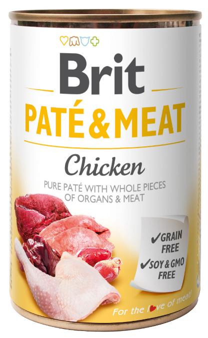 Brit Pate & Meat Chicken 800g - Kurczak