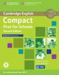 Compact First for Schools Workbook without Answers + Audio