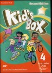 Kid's Box Second Edition 4 Interactive DVD (NTSC) with Teacher's Booklet