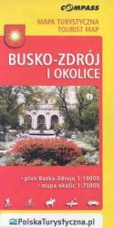 Busko-Zdrój i okolice Mapa turystyczna 1:75 000 1: 100 000