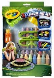 Kreda 3D Crayola zestaw de lux