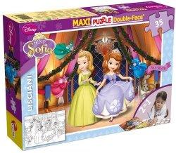 Puzzle Maxi 35 dwustronne Jej Wysokość Zosia