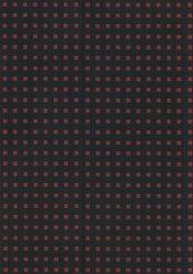 Zeszyt B5 Paper-oh Quadro gładki 56 kartek Black on Red
