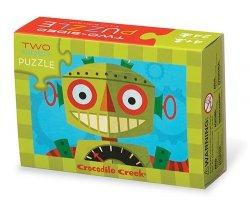 Puzzle dwustronne Roboty 24