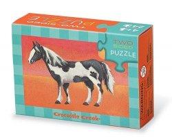 Puzzle dwustronne Konie 24