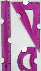 Zestaw geometryczny 3 części 30 cm Bambino flexi