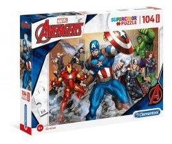 Puzzle Supercolor 104 Maxi Marvel Avengers
