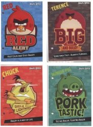 Wkłady do segregatora A6 Angry Birds 10 sztuk mix