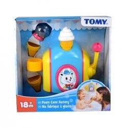 Tomy Fabryka lodów z piany zabawa w wannie