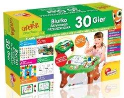 Carotina preschool Biurko aktywnego przedszkolaka 30 gier