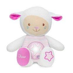 Owieczka z projektorem różowa