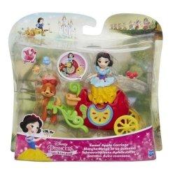 Disney Księżniczki Mini laleczki z pojazdami Sweet Apple Carriage