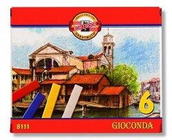 Pastele twarde Gioconda 8111 6 kolorów