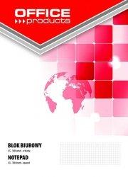 Blok biurowy OFFICE PRODUCTS A5 w kratkę 100 kartek 5 sztuk