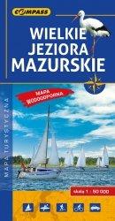 Wielkie Jeziora Mazurskie 1:50 000 mapa laminowana