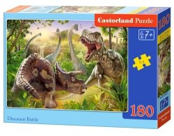 Puzzle Dinosaur Battle 180