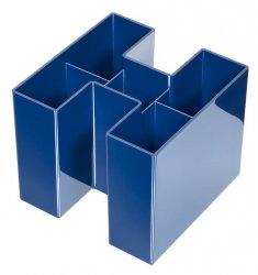 Przybornik na biurko HAN Bravo 5 komór niebieski