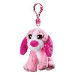 Breloczek różowy pies