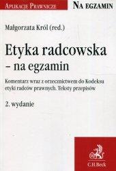 Etyka radcowska na egzamin