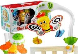 Grająca zabawka do łóżeczka projektor pszczoła