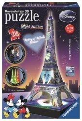 Puzzle 3D Wieża Eiffla - NIGHT EDITION DISNEY  216