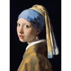 Karnet B6 z kopertą Girl with a Pearl Earring