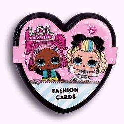 LOL Suprise Fashion Cards Karty modowe czarne