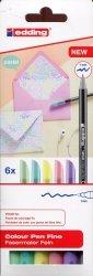 Pisaki pastelowe 6 kolorów