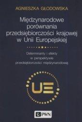 Międzynarodowe porównania przedsiębiorczości krajowej w Unii Europejskiej