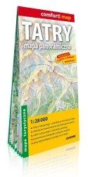 Tatry Mapa panoramiczna; laminowana mapa turystyczna 1:28 000