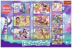 Puzzle 10w1 Przygody Enchantimals