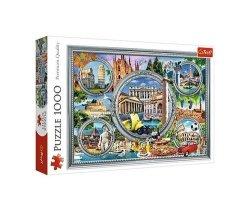 Puzzle Włoskie wakacje 1000
