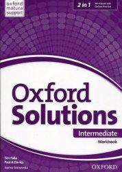 Oxford Solutions Intermediate Workbook + Online Practice
