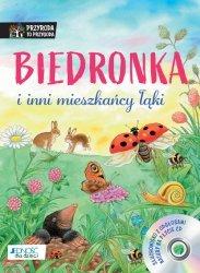 Biedronka i inni mieszkańcy łąki Książka z płytą CD