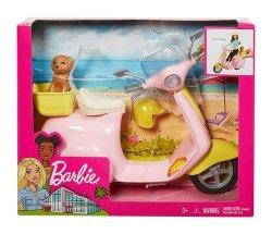 Barbie skuter ze szczeniaczkiem
