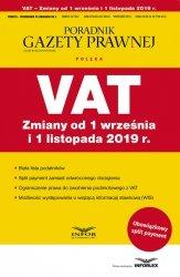 VAT Zmiany od 1 wrzesnia i 1 listopada 2019