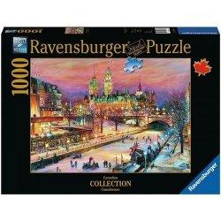 Puzzle Ottawa zimowy festiwal 1000