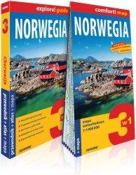 Norwegia 3w1 przewodnik + atlas + mapa