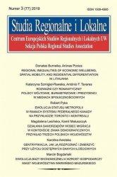 Studia Regionalne i Lokalne 3 (77) /2019