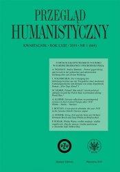 Przegląd Humanistyczny 2019/1 (464)